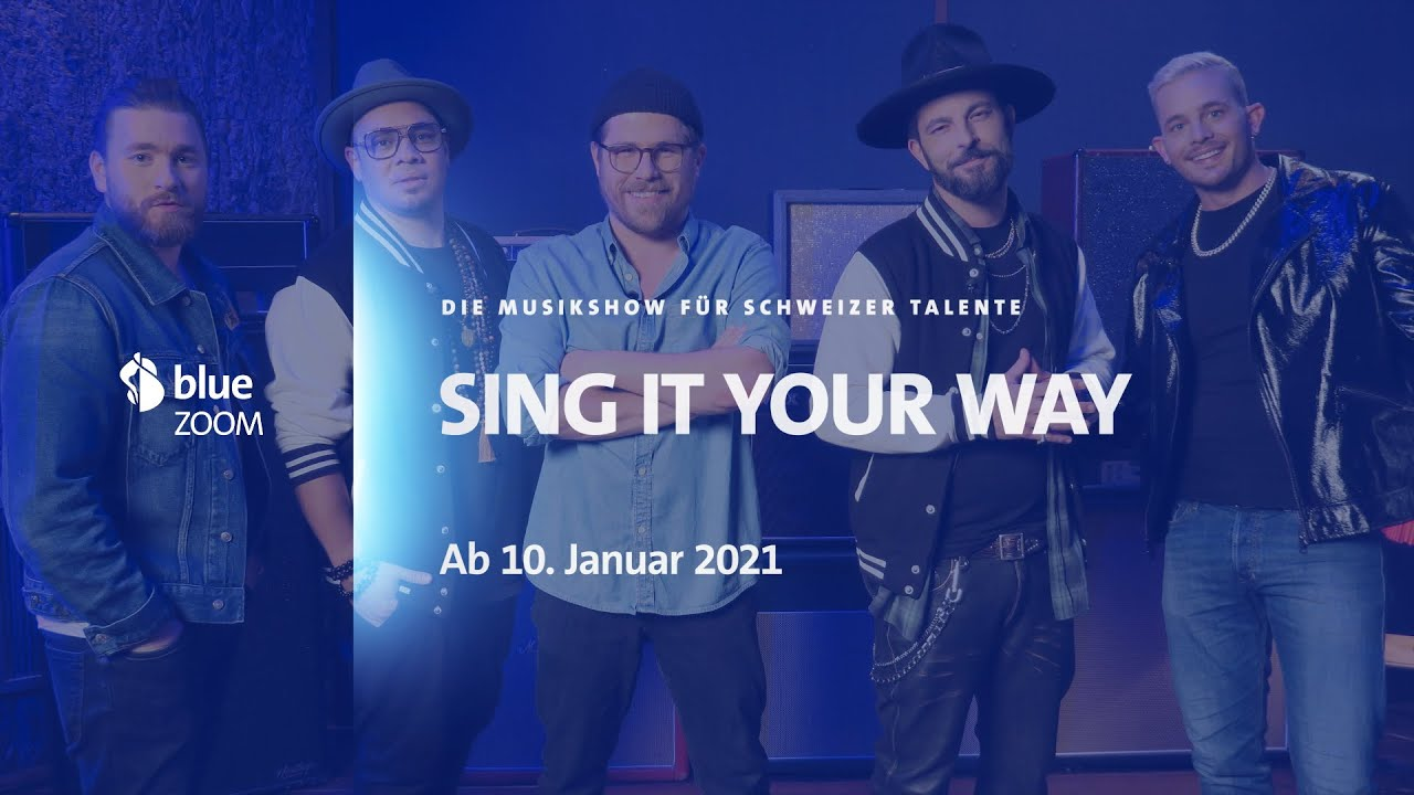 "LIVE-TEC | Swisscom blue ""Sing It Your Way"""